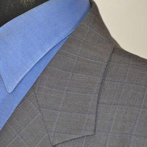 Zandello Suits & Blazers - Zandello 48L Sport Coat Blazer Suit Jacket Gray Pl